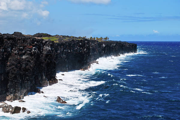 Photograph - Lava Shore by Christi Kraft