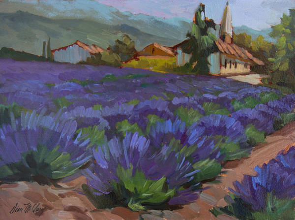 Fleurs Wall Art - Painting - Lavandin En Fleur by Diane McClary