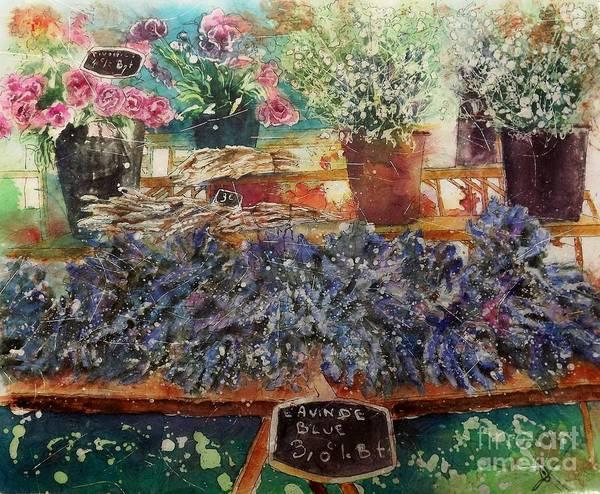 Painting - Lavendar For Sale by Carol Losinski Naylor