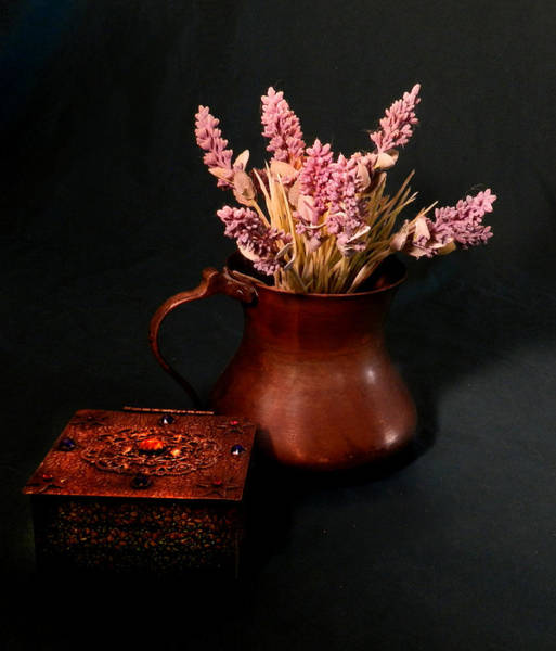 Photograph - Lavender And Copper by Grace Dillon