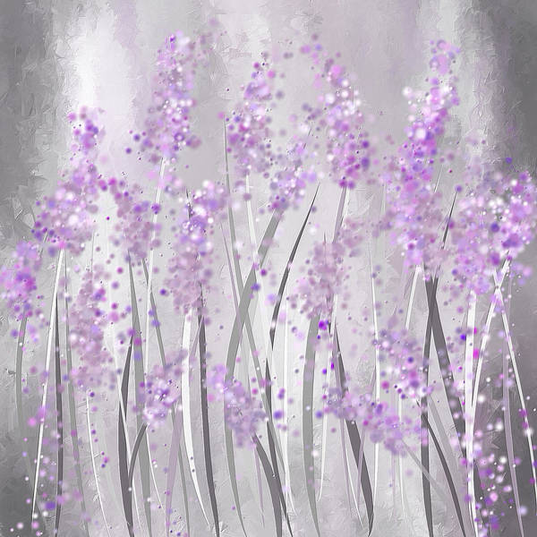 Painting - Lavender Art by Lourry Legarde
