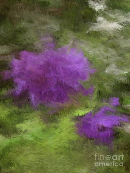 Digital Art - Monet Meadow by The Art of Alice Terrill