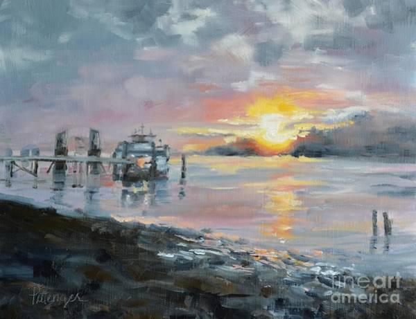 Painting - Lavish Sunrise by Lori Pittenger