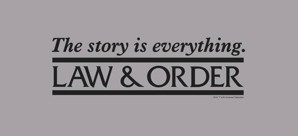 Order Digital Art - Law And Order - Story by Brand A