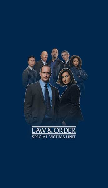 Wall Art - Digital Art - Law And Order Svu - Team by Brand A