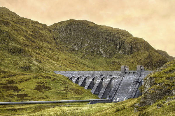 Photograph - Lawers Dam - Scotland - Lochan Na Lairige by Jason Politte