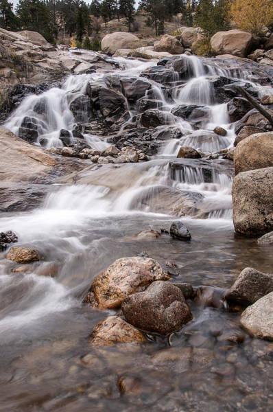 Photograph - Lawn Lake Falls by Lee Kirchhevel