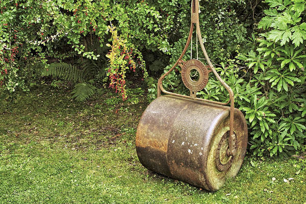 Photograph - Lawn Roller At Cluny Gardens by Jason Politte