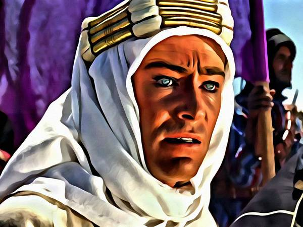 Painting - Lawrence Of Arabia by Florian Rodarte