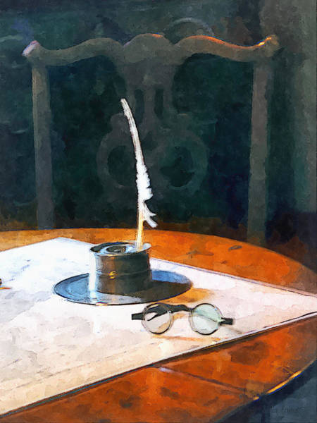 - Lawyer - Quill And Spectacles by Susan Savad