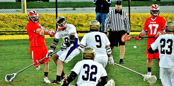 Lax Photograph - Lax Toughness by Benjamin Yeager