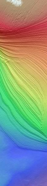 Deposit Photograph - Layered South Polar Deposites by Nasa