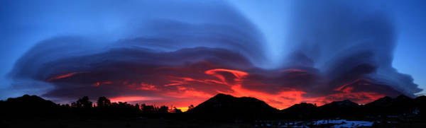 Photograph - Layers In The Sky - Panorama by Shane Bechler