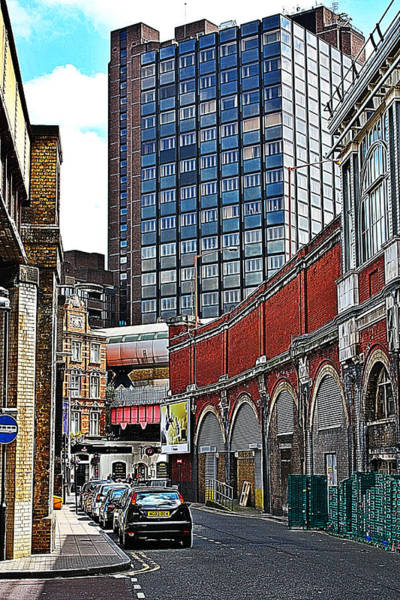 Photograph - Layers Of London by Jeremy Hayden