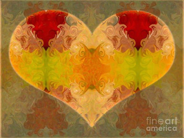 Digital Art - Layers Of Loving Wisdom Abstrat Symbol Artwork By Omaste Witkowski by Omaste Witkowski