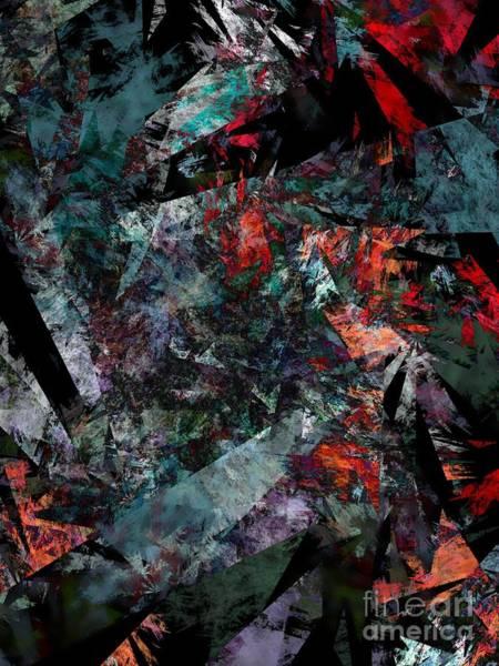 Fragment Digital Art - Layers Of Memories by Klara Acel