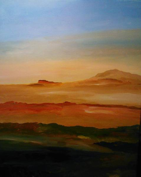 Painting - Layers Of Nature by Ray Khalife