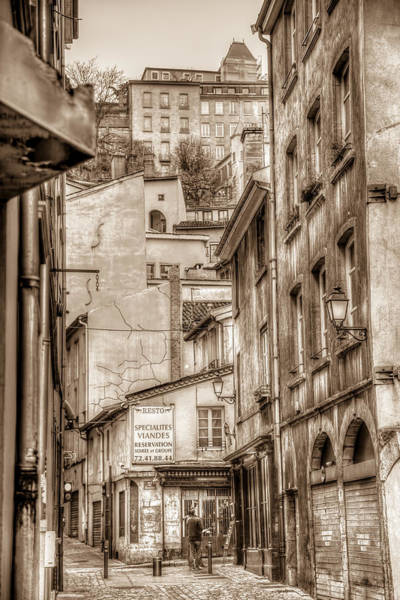 Rhone River Photograph - Layers Of Old Lyon by W Chris Fooshee