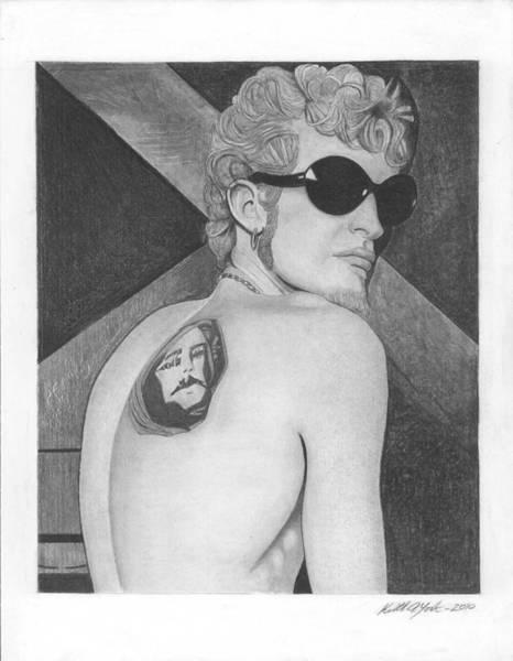 Layne Staley Wall Art - Drawing - Layne Staley 2 by Keith York