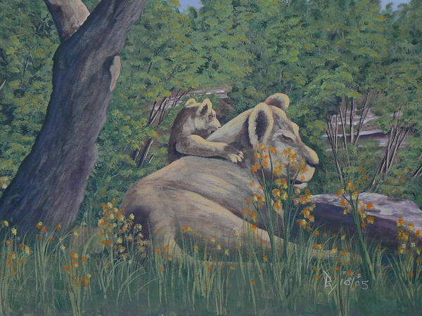 Painting - Lazy Days Of Summer by Ray Nutaitis
