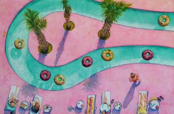 Sunbathers Paintings (Page #3 of 4) | Fine Art America