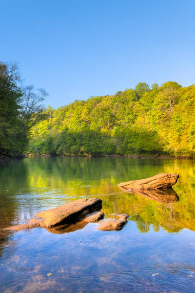 Photograph - Lazy Morning On The Chattahoochee River by Mark Tisdale