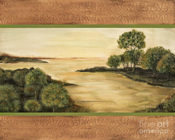 Emboss Wall Art - Painting - Lazy Summer Days by Jean Plout