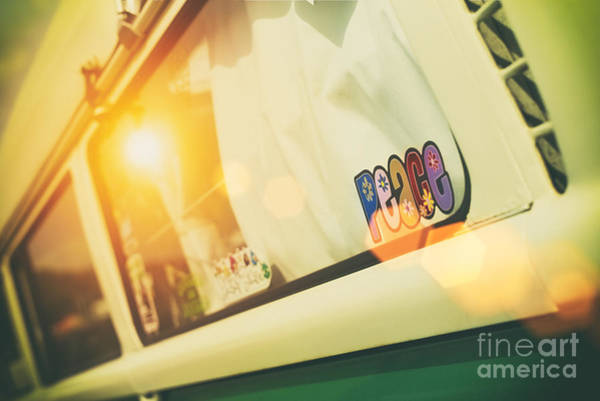 Campervan Photograph - Lazy Summer Days by Tim Gainey