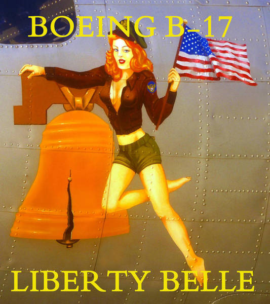 Flying The Flag Wall Art - Photograph - Miss Liberty Belle Color Work A by David Lee Thompson