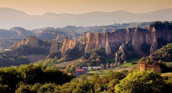 Geology Photograph - Le Balze - Castelfranco Di Sopra by Helmut Plamper