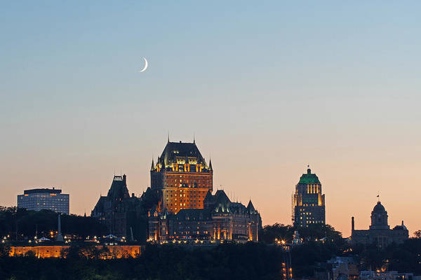 Photograph - Le Chateau Frontenac - Quebec City by Juergen Roth