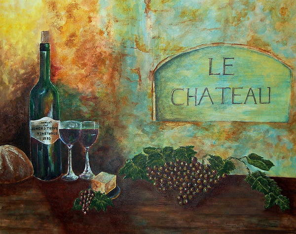 Painting - Le Chateau by Tamyra Crossley