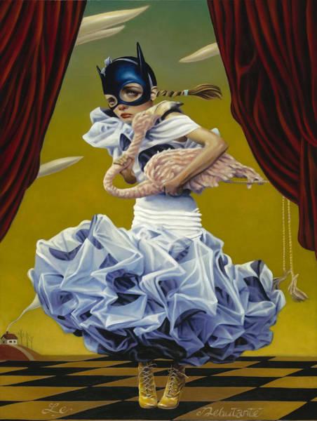 Wall Art - Mixed Media - Le Debutante by Vic Lee