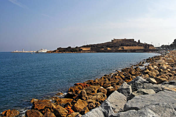 Photograph - Le Fort Carre - Antibes - France by Christine Till