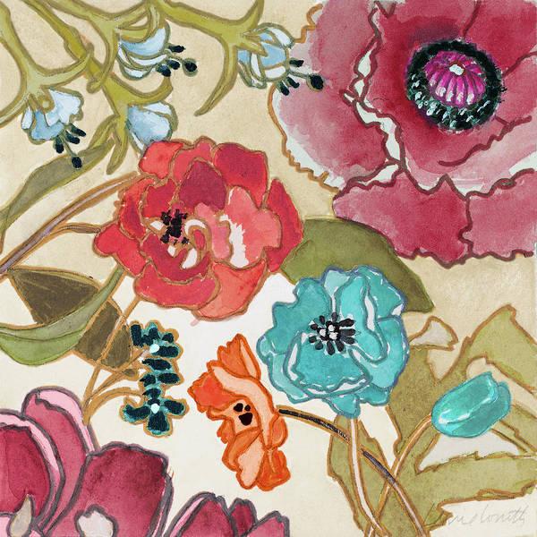 Jardin Painting - Le Jardin Colorful II by Lanie Loreth