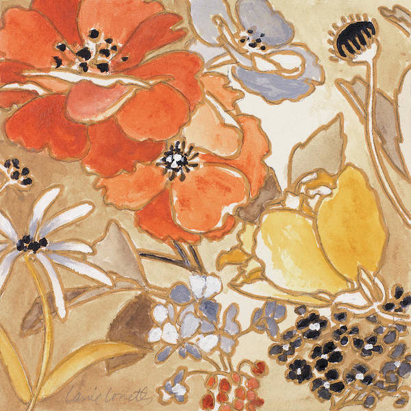 Jardin Painting - Le Jardin I by Lanie Loreth