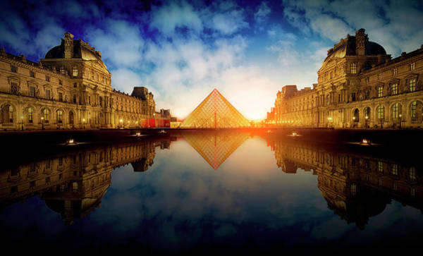 Wall Art - Photograph - Le Louvre by Massimo Cuomo