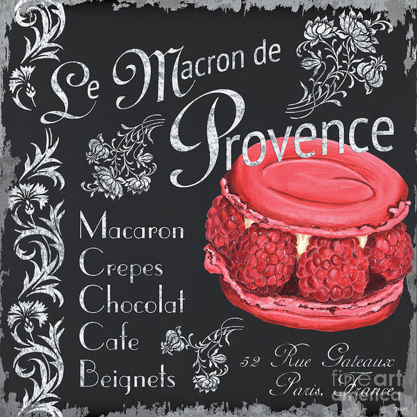 Flower Shop Painting - Le Macron De Provence by Debbie DeWitt