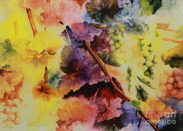 Wall Art - Painting - Le Magie D' Automne by Maria Hunt