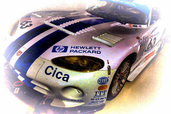 Photograph - Le Mans 1997 Chrysler Viper Gts  by Olivier Le Queinec