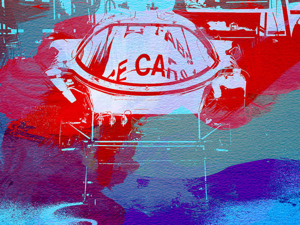 Wall Art - Painting - Le Mans Racer During Pit Stop by Naxart Studio
