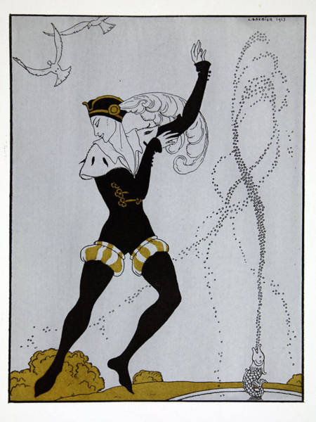 Skill Painting - Le Pavillion D'armider by Georges Barbier