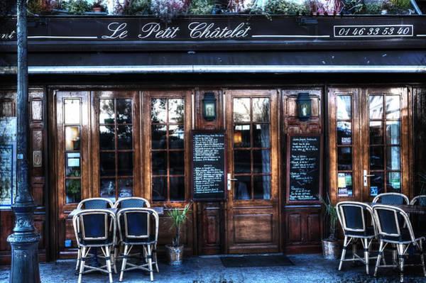 Le Petit Chatelet Paris France Art Print