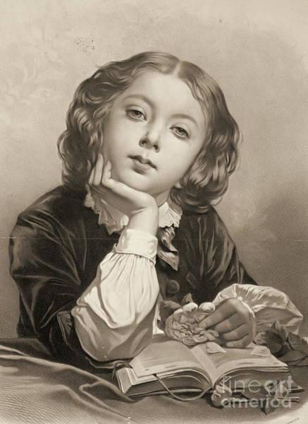 Wall Art - Photograph - Le Petit Distrait 1850 by Padre Art