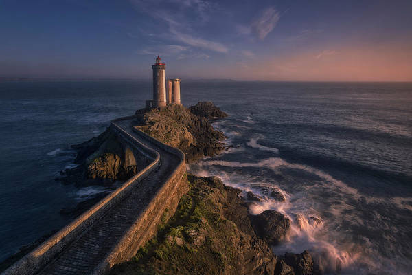 Atlantic Photograph - Le Petit-minou by Oskar Baglietto