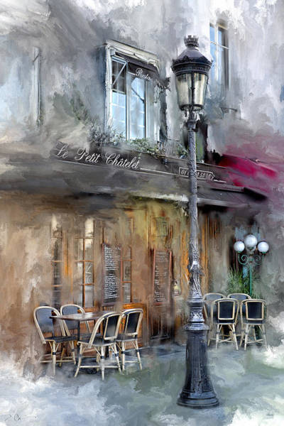 Le Petit Paris Art Print