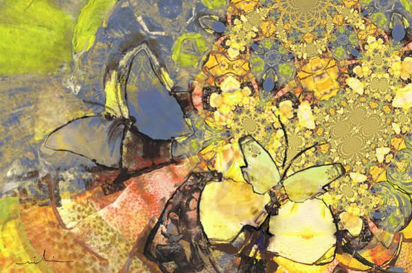 Painting - Le Printemps Des Papillons by Miki De Goodaboom