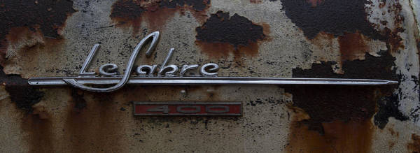 Junkyard Photograph - Le Sabre by Debra and Dave Vanderlaan