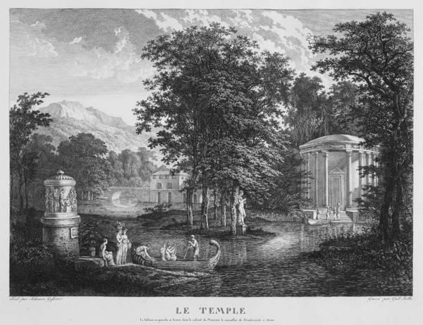 Digital Art - Le Temple by Carl Wilhelm Kolbe
