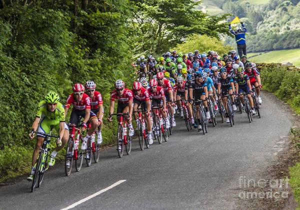 Le Tour De France Wall Art - Photograph - Le Tour De France by Sandra Cockayne ADPS